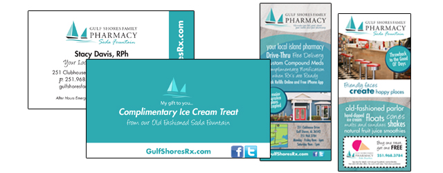 Branding, Graphic Design, Gulf Shores AL, Orange Beach AL, Foley AL, Marketing Agency, Public Relations, Pink Fish Marketing